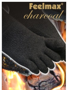 Charcoal is well known for its antibacterial properties. Now everyone can have their feet fresh all day.