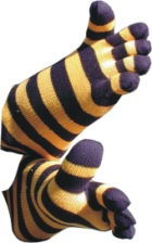 Blue & Yellow Stripes