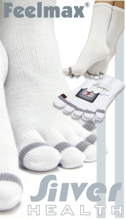 Feelmax Diabetic Silver Toe Socks